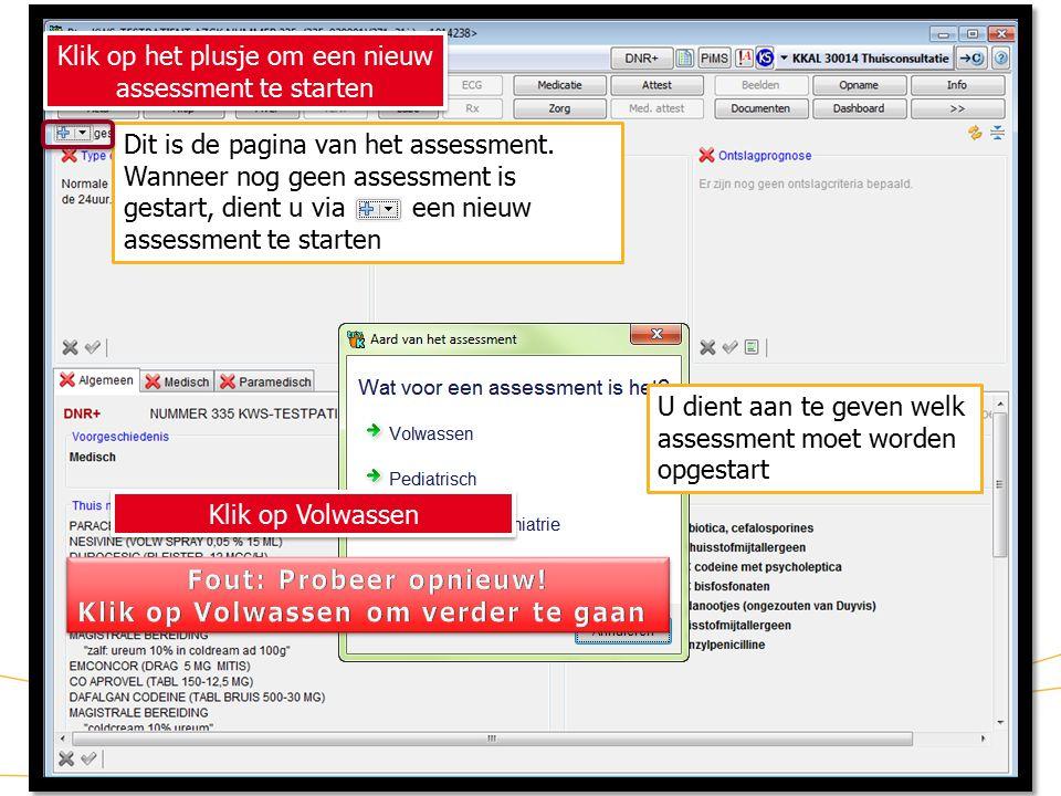 4 KWS: lint/ Assessment (2) Dit is de pagina van het assessment.