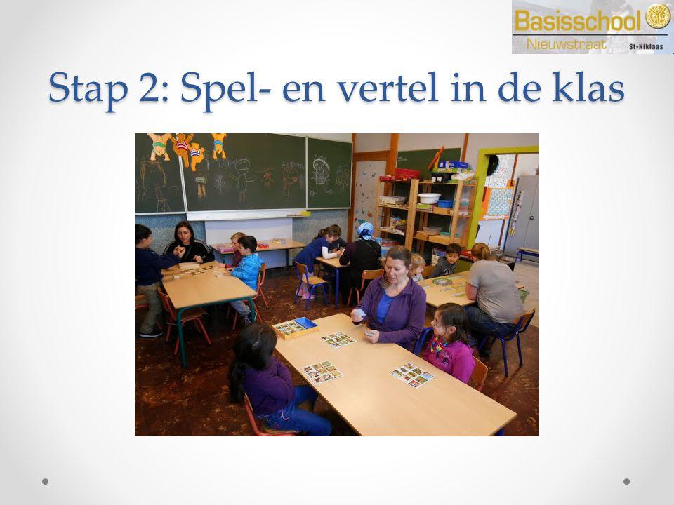 Stap 2: Spel- en vertel in de klas