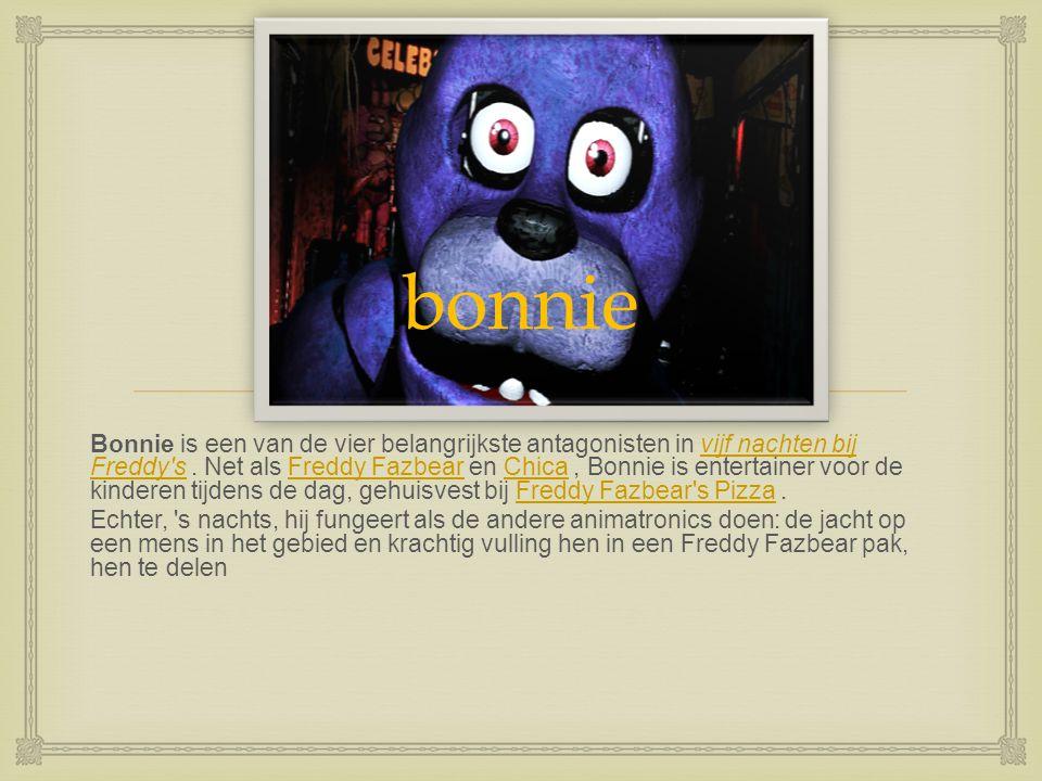  M angel (soms nagesynchroniseerde De Mangel ) is één van de nieuwe animatronics en één van de tegenstanders in het spelvijf nachten bij Freddy's 2.