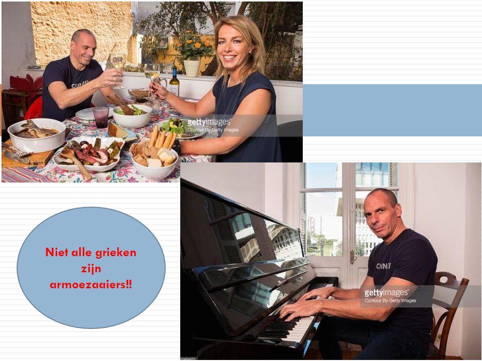 14/04/2015 7 Niet alle grieken zijn armoezaaiers!!