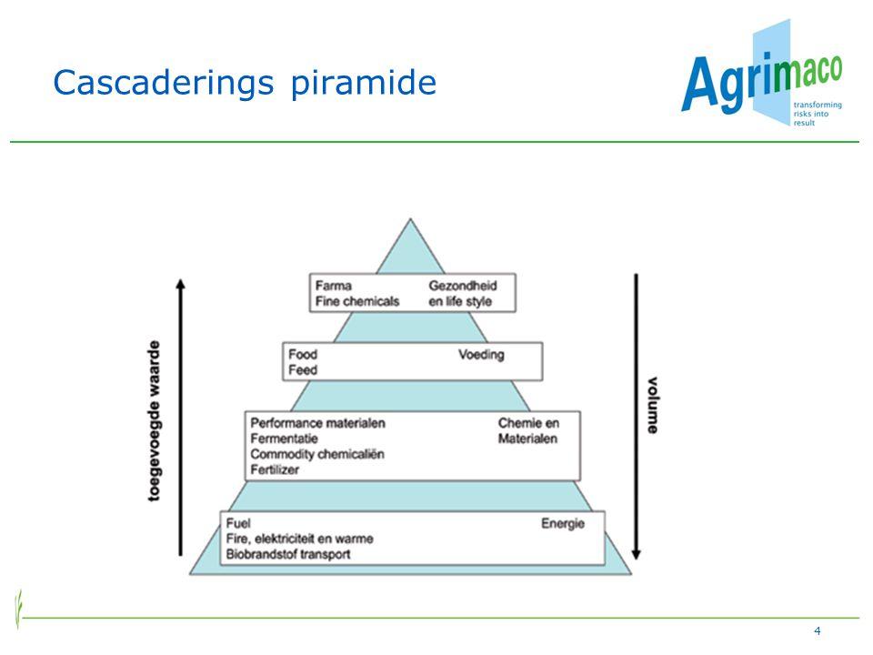 Cascaderings piramide 4