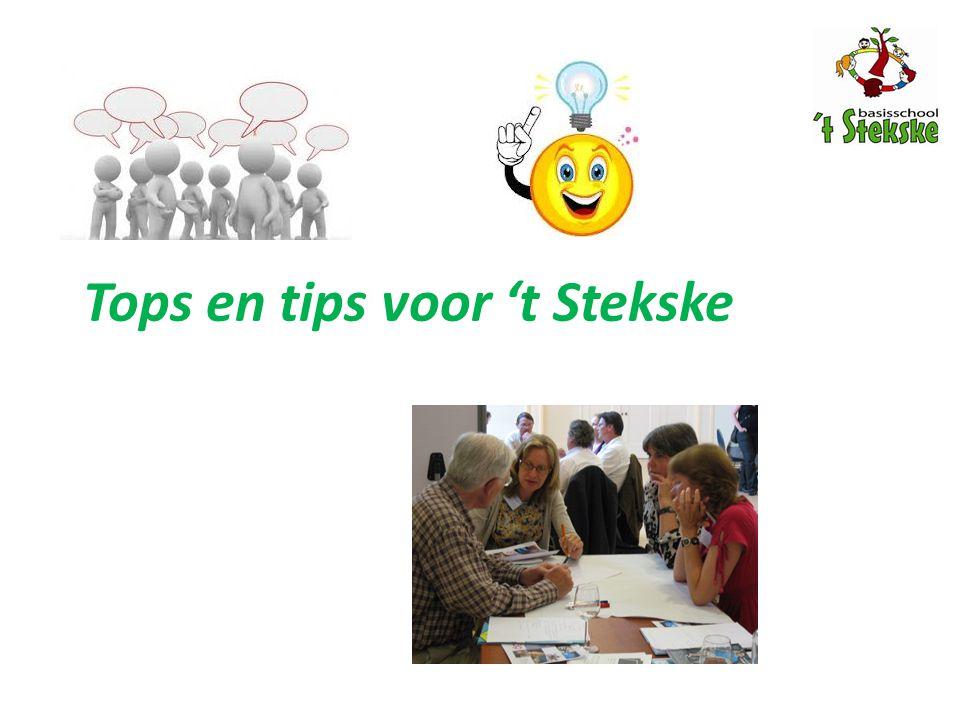 Tops en tips voor 't Stekske