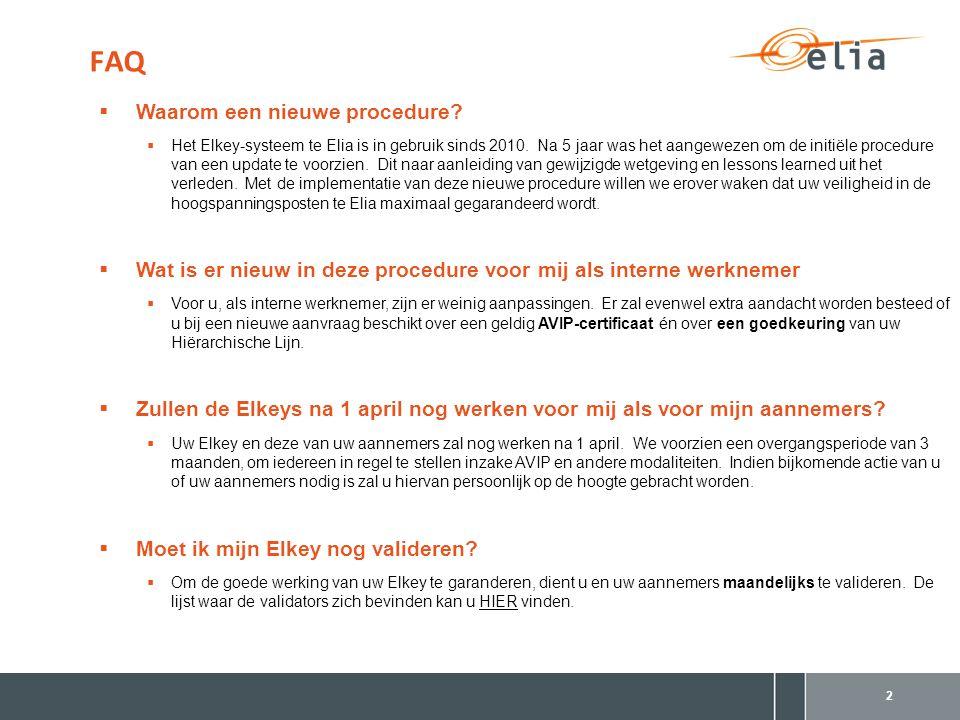 * European Programme for Critical Infrastructure Protection FAQ 3  Wat is er nieuw voor mijn aannemers.
