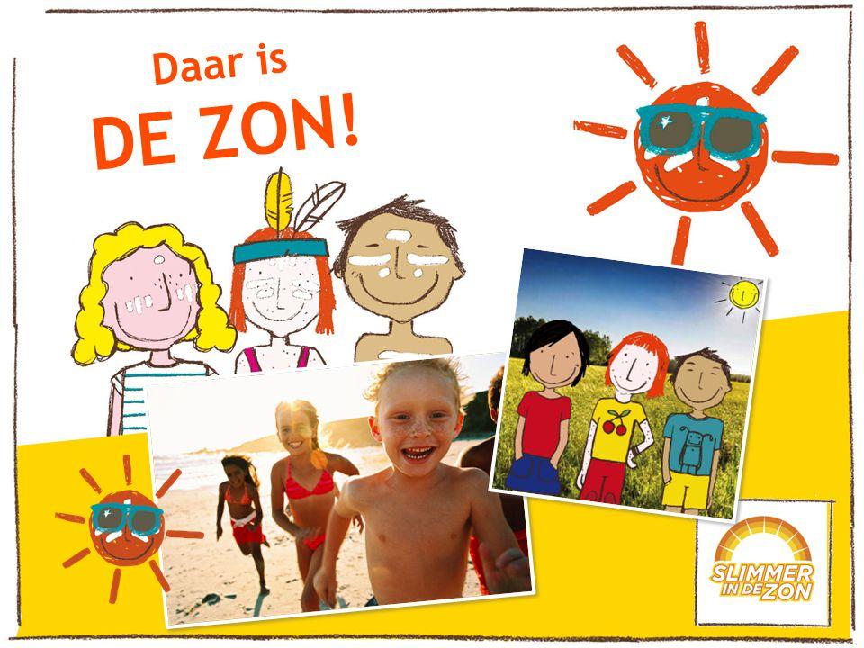 Daar is DE ZON!