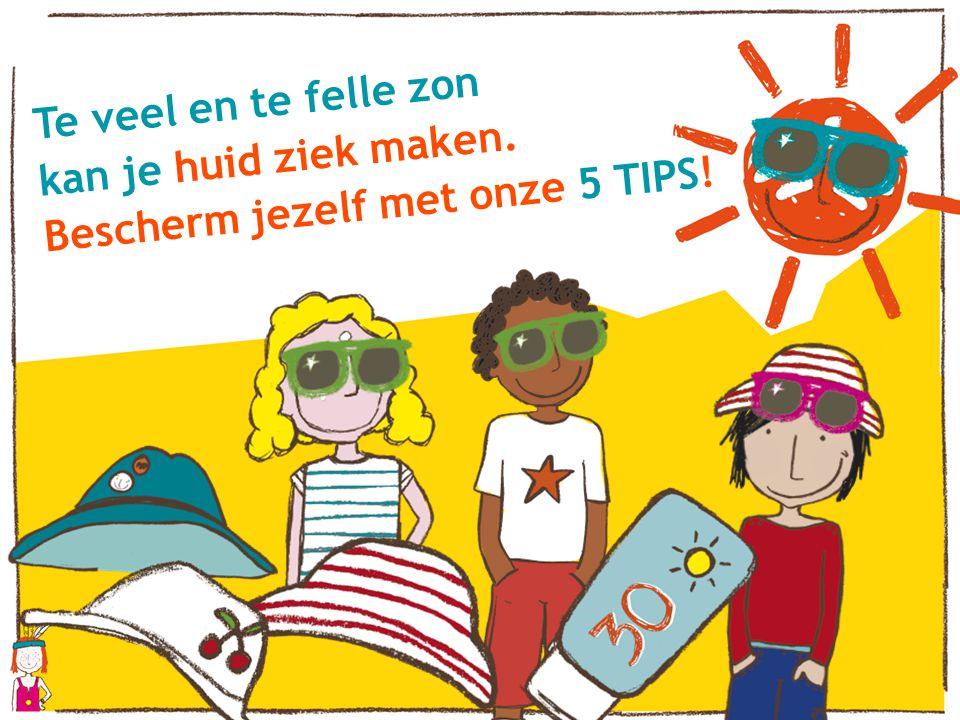 Te veel en te felle zon kan je huid ziek maken. Bescherm jezelf met onze 5 TIPS!