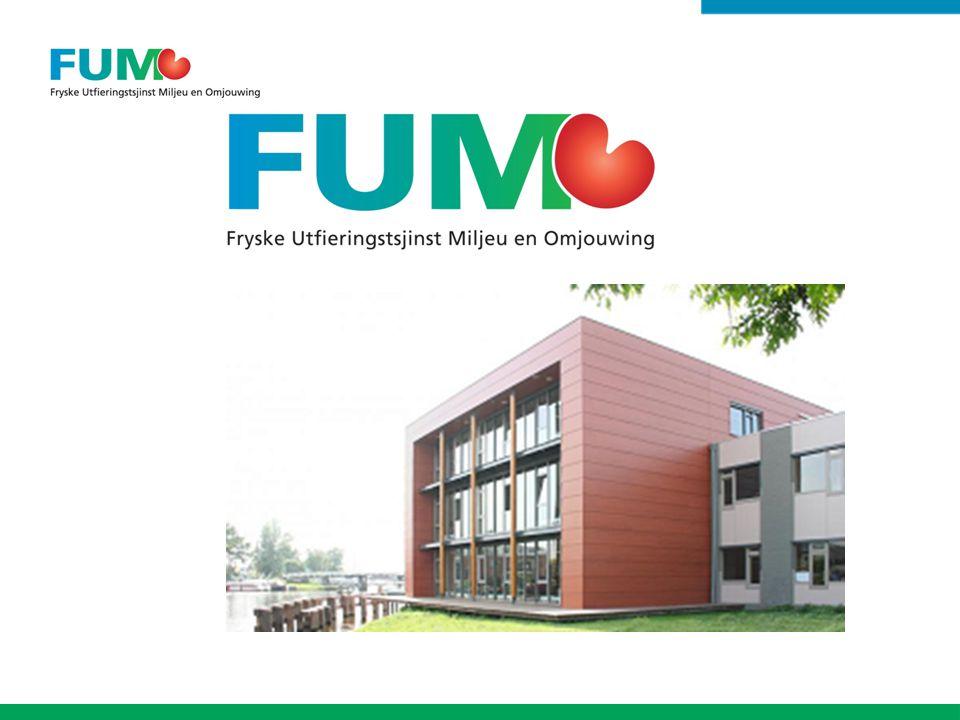 Inhoud presentatie: Huidige situatie / stand van zaken FUMO Doelen komende jaren Draagvlak en interactie Projecten van dit moment Actualisering Bedrijfsplan 2012 Begroting 2016