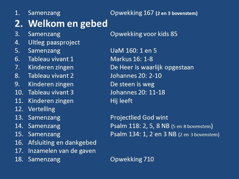 Psalm 118: 2, 5, 8 NB (5 en 8 bovenstem) 2.De Heer is met mij, k zal niet vrezen.