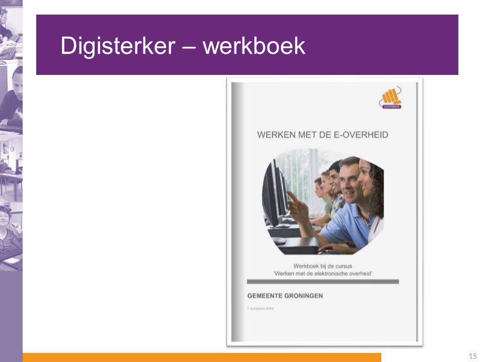 Digisterker – werkboek 15