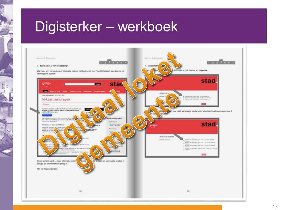 Digisterker – werkboek 17