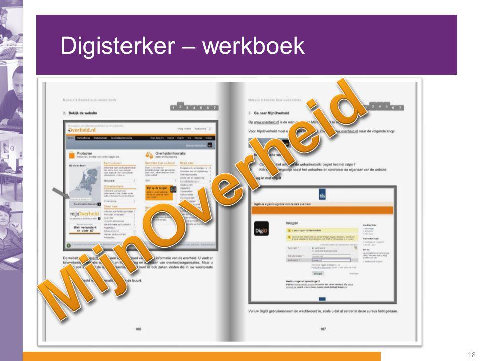 Digisterker – werkboek 18