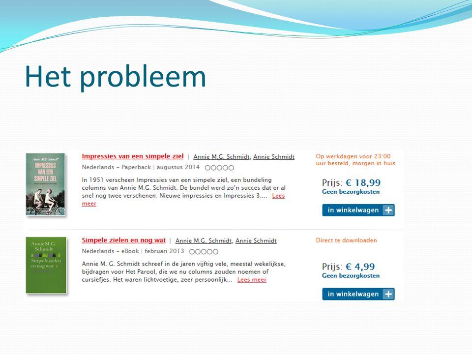 NSTC Nederlandstalige Standaard Tekst Code CB in samenwerking met Meta4Books Focus op leverbare A- en O-boeken Live vanaf november 2014 3 De oplossing: