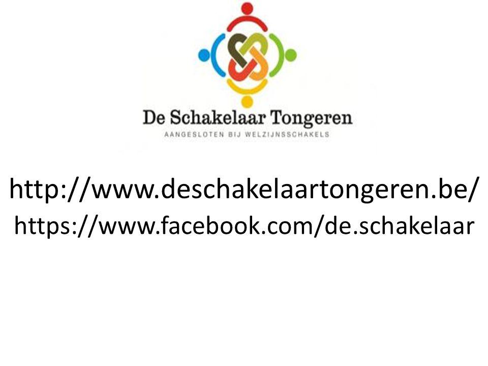 http://www.deschakelaartongeren.be/ https://www.facebook.com/de.schakelaar