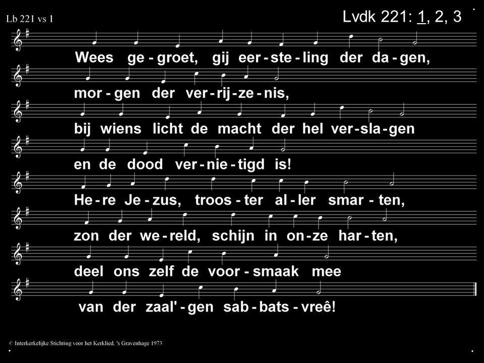 ... Lvdk 221: 1, 2, 3