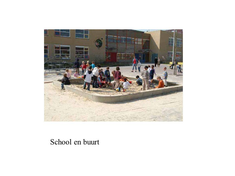 School en buurt