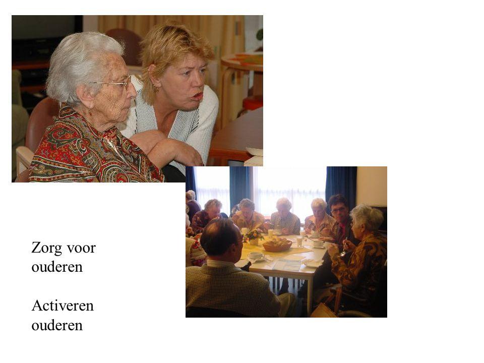 Zorg voor ouderen Activeren ouderen