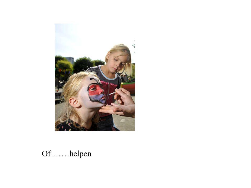 Of ……helpen