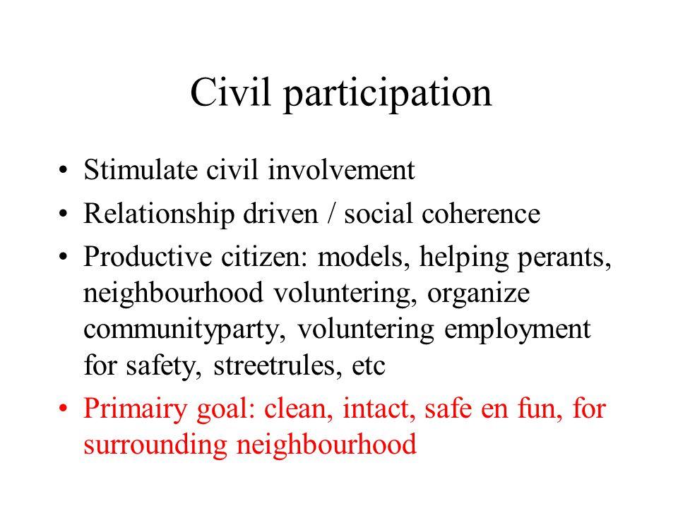 Civil participation