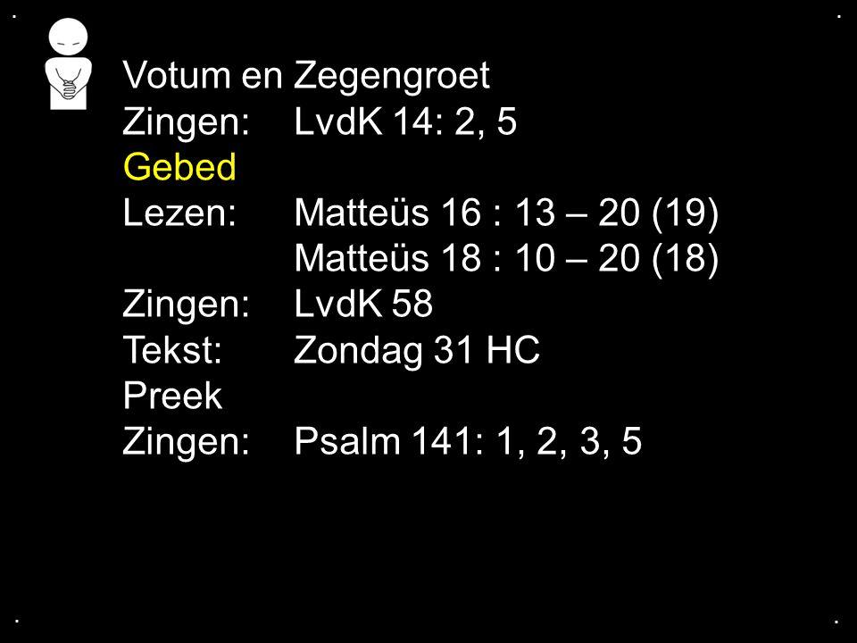 Psalm 16: 1, 3