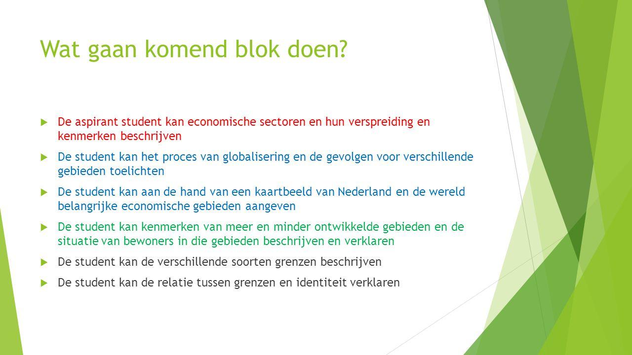 Blauwe Banaan Gebied in Europa Waar veel economische activiteit plaats vindt Zoals: ruhrgebied, haven van Rotterdam, Antwerpen.