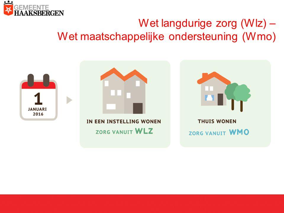 Wet langdurige zorg (Wlz) – Wet maatschappelijke ondersteuning (Wmo)
