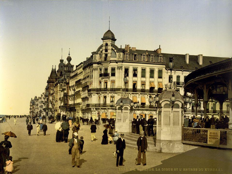 Oostende ontpopte zich tot een mondaine badplaats met wereldfaam. Leopold II besteedde de enorme winsten uit zijn infame rubberhandel om steden als Br