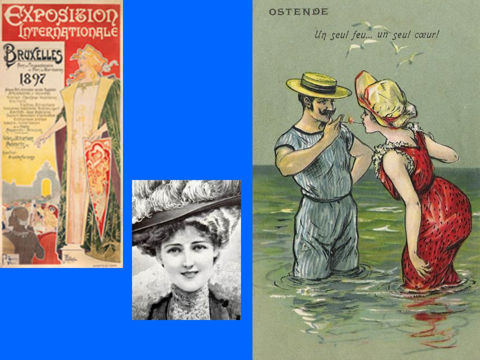 De periode tussen 1871 en 1914 werd omschreven als de 'Belle époque , 'mooie eeuw',echter uitsluitend voor de francofone elite.