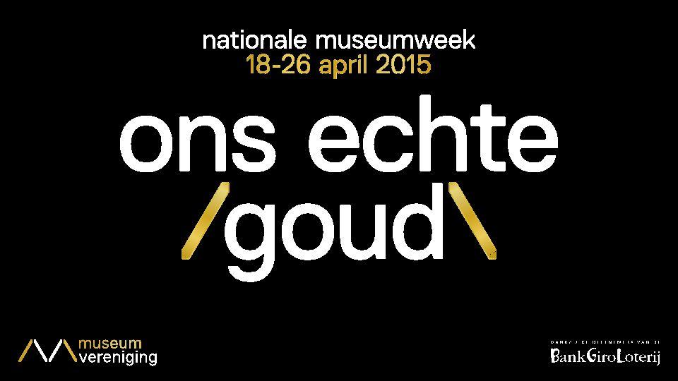 Contactgegevens E: pers@nationalemuseumweek.nl F: Nationale Museumweek T: @MuseumweekNL I: @MuseumweekNL #museumweeknl