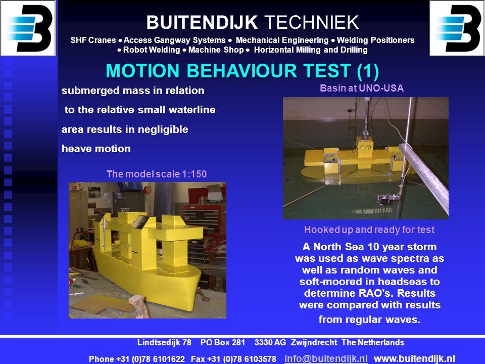BUITENDIJK TECHNIEK SHF Cranes  Access Gangway Systems  Mechanical Engineering  Welding Positioners  Robot Welding  Machine Shop  Horizontal Mil