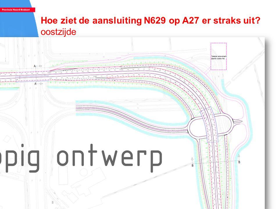 Hoe ziet de aansluiting N629 op A27 er straks uit? oostzijde 8