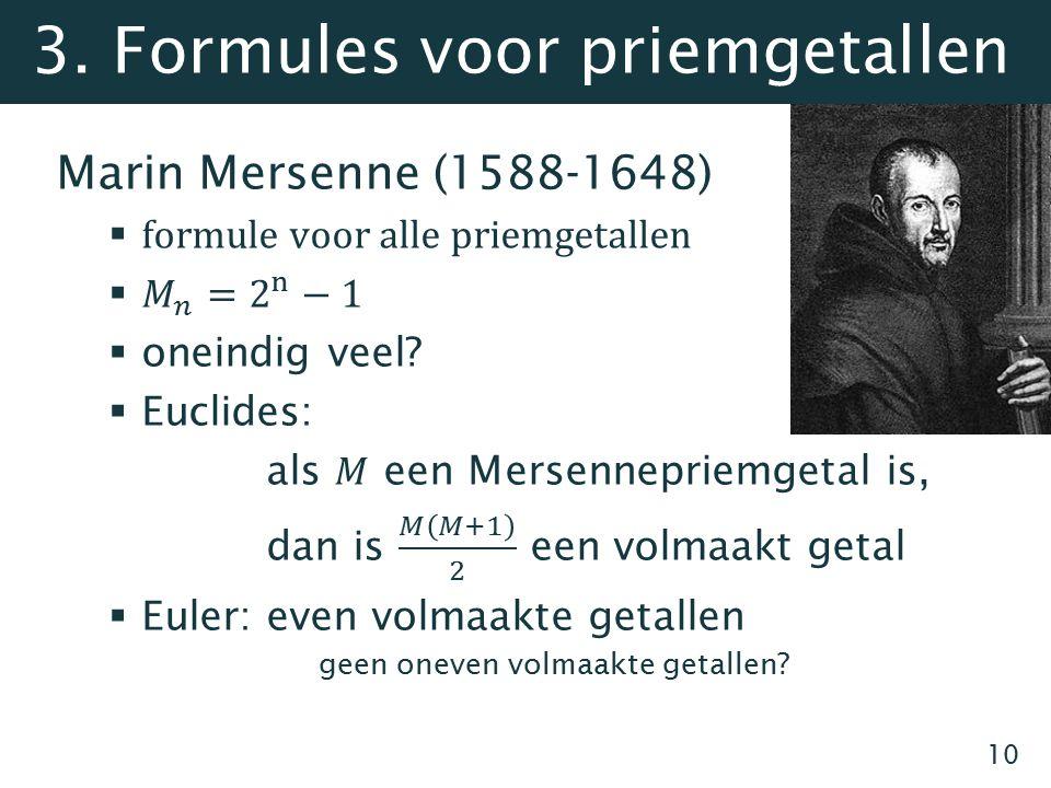 3. Formules voor priemgetallen 10