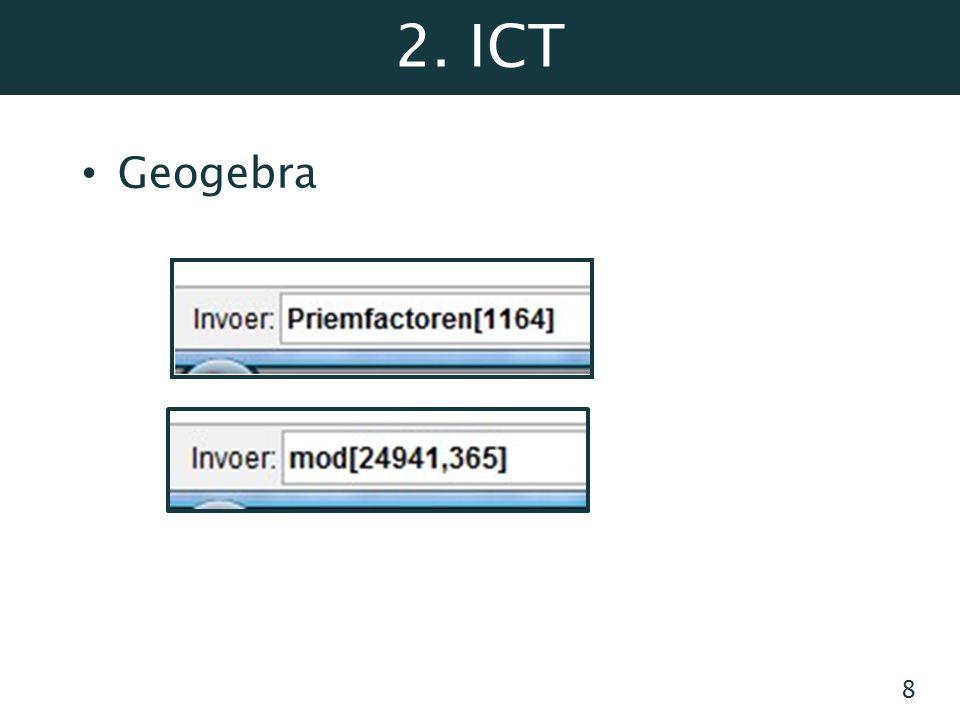 2. ICT Geogebra 8