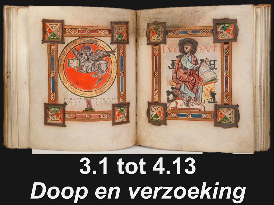 3.1 tot 4.13 Doop en verzoeking