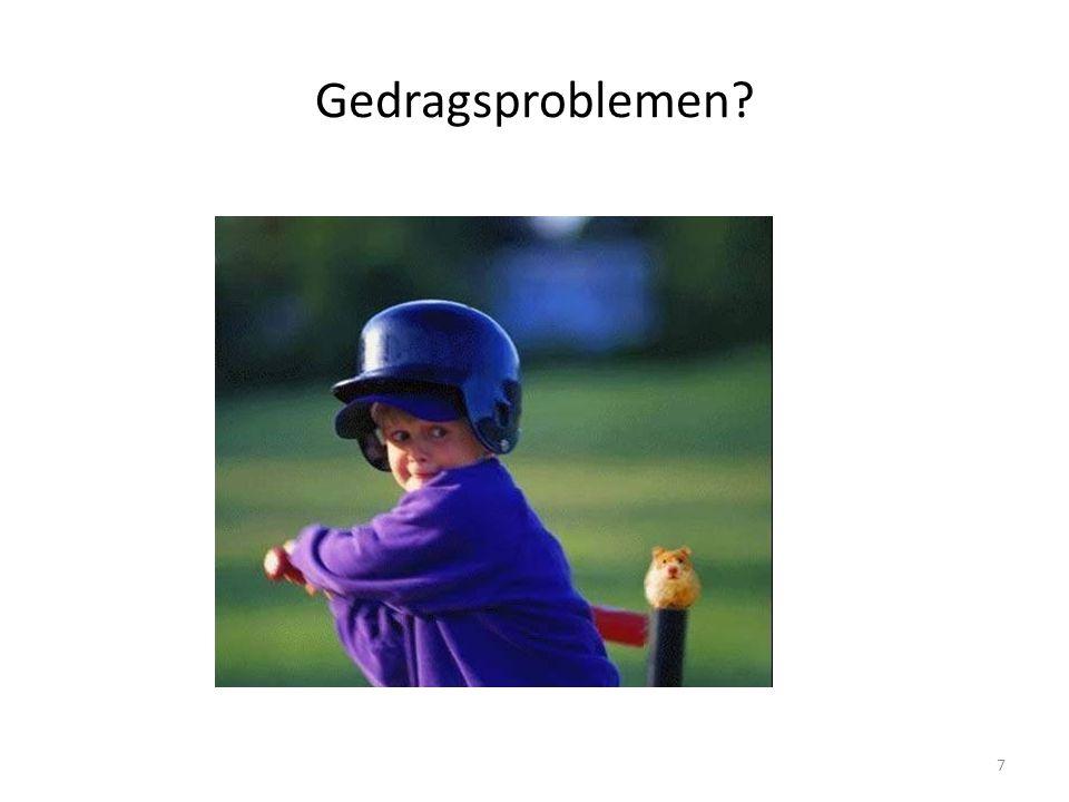 gedragsproblemen : zijn altijd een gevolg van complexe interacties tussen de genetische aanleg van de leerling en de ecologische omgeving waarin de leerling opgroeit gedragsstoornis: is het gevolg van een defect in de aanleg en ontwikkeling van het zenuwstelsel