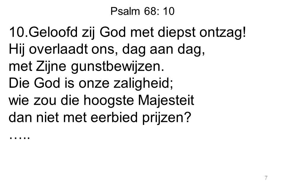 Psalm 68: 10 …..