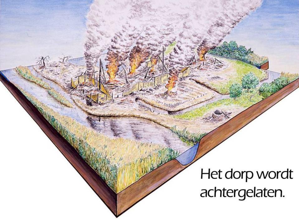 > 300.000 – 2000 v.C.-De mens gebruikt grote bijlen uit vuursteen om de bomen te hakken.