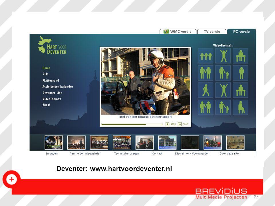 Deventer: www.hartvoordeventer.nl 23