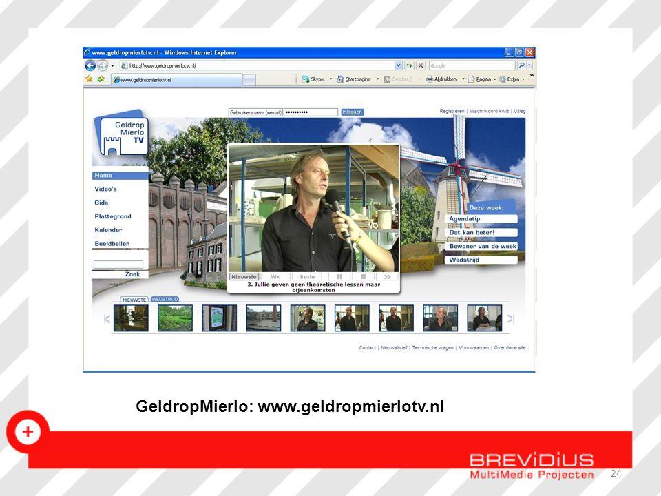 GeldropMierlo: www.geldropmierlotv.nl 24