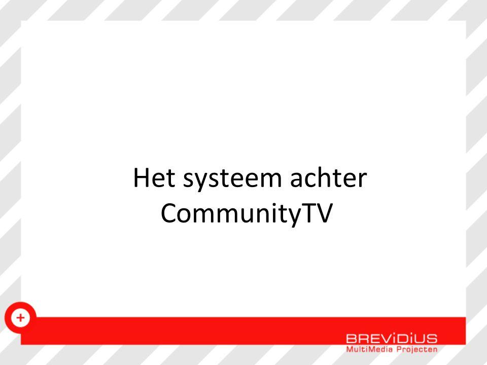 Het systeem achter CommunityTV