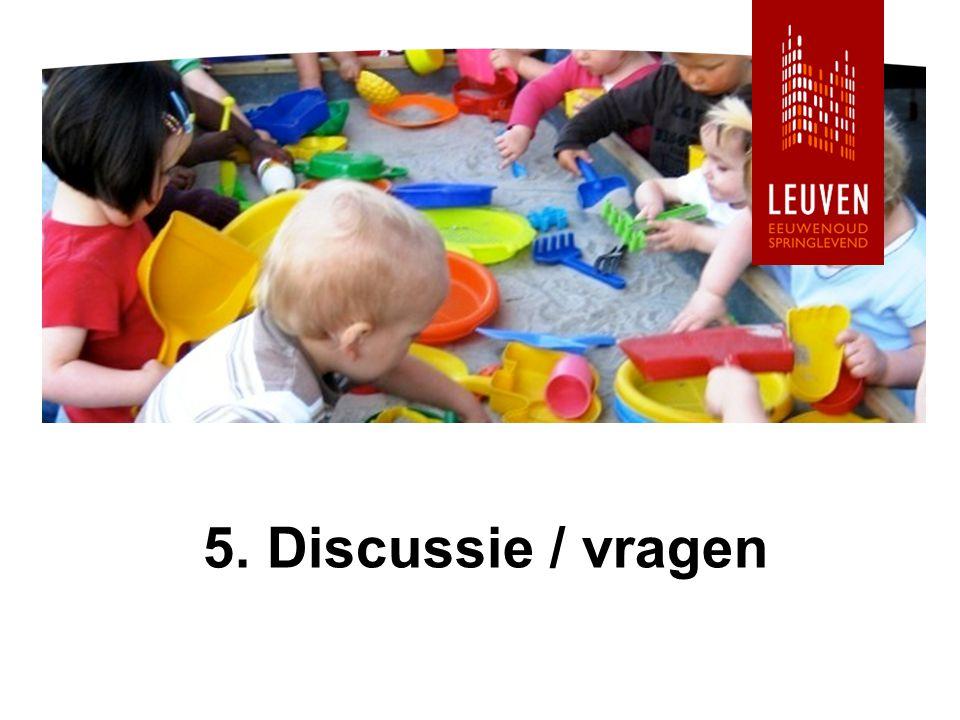 5. Discussie / vragen