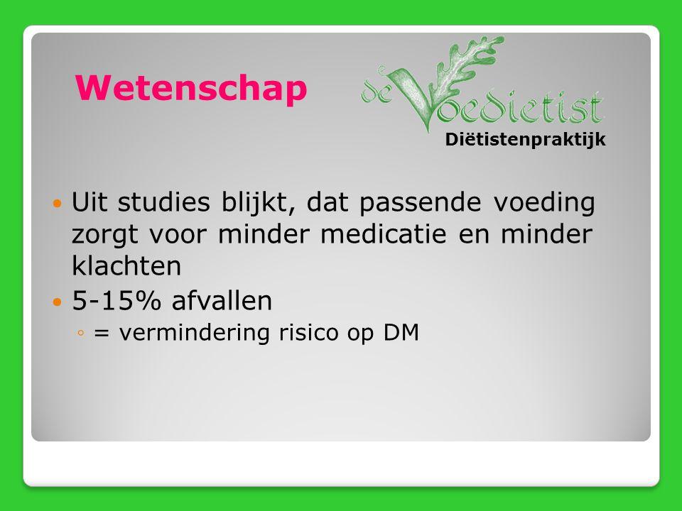DM + Bij verandering van de medicatie Hoge bloeddruk, cholesterol Andere ziekten Ondergewicht Nierfunctiestoornis Hoe kunnen wij u ondersteunen.