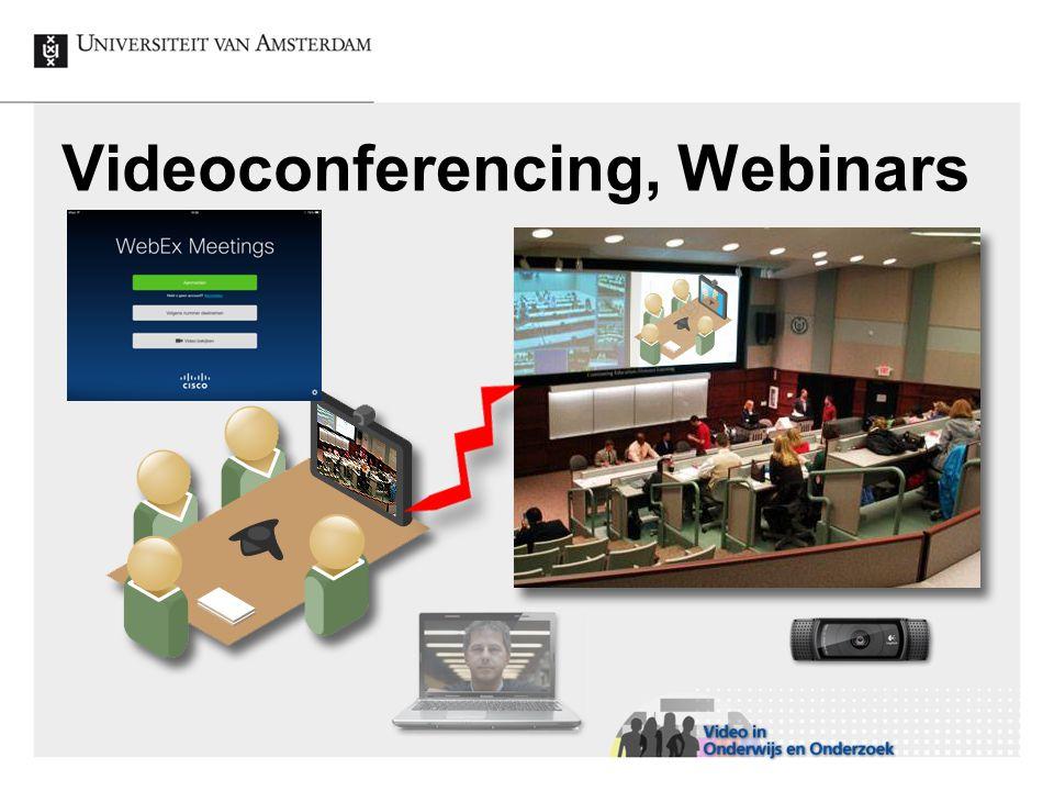 Videoconferencing, Webinars
