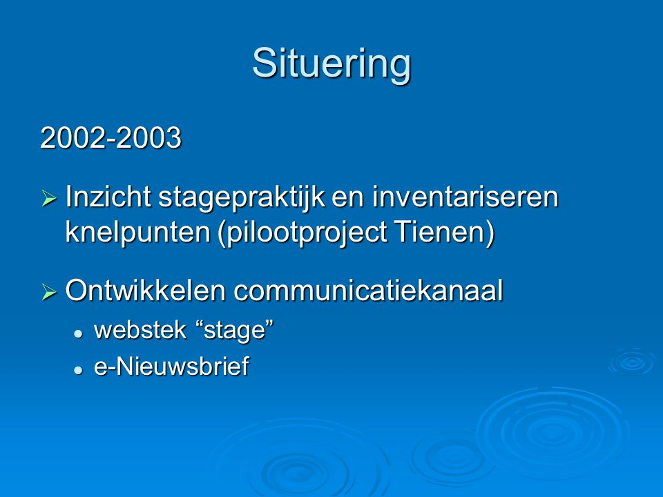 Stagewerkpromotor  Achtergrond  Profiel stagewerkpromotor  Verslag proces  Opvragen eindbeoordeling: na 15 juli!