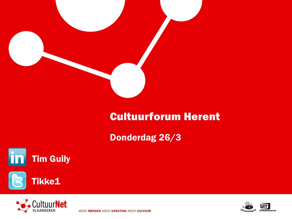 Cultuurforum Herent Donderdag 26/3 Tim Guily Tikke1