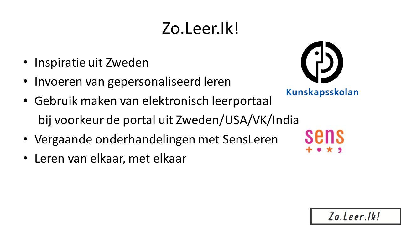 Volg onze ontwikkeling: http://zoleerik.blogspot.nl/ Meer informatie o.a.