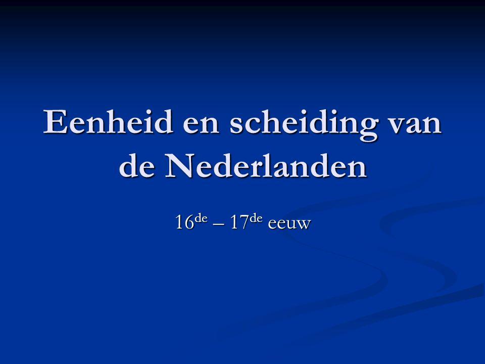 Pacificatie van Gent (1576) = De NL gewesten sluiten zich aaneen in de Generale Unie = De NL gewesten sluiten zich aaneen in de Generale Unie Onmiddellijk gevolg van de Spaanse Furie Onmiddellijk gevolg van de Spaanse Furie Gemaakte afspraken: Gemaakte afspraken: 1.