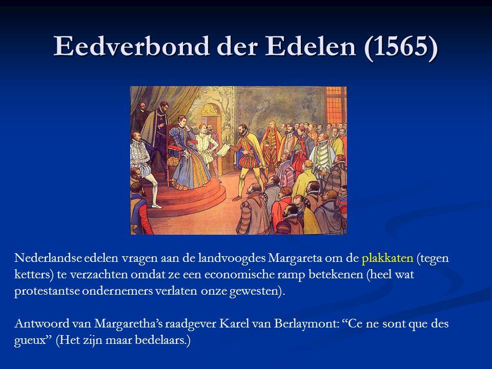 B. De Nederlanden onder Filips II : opstand! Maatregelen van Filips: Meer macht voor kerk (bisschoppen) en Inquisitie Meer macht voor kerk (bisschoppe