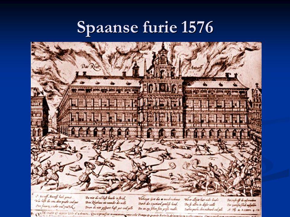 """De 80-jarige oorlog (1568-1648) Willem van Oranje (""""Willem de Zwijger"""") leidt de geuzen tegen Alva en de Spanjaarden Willem van Oranje (""""Willem de Zwi"""