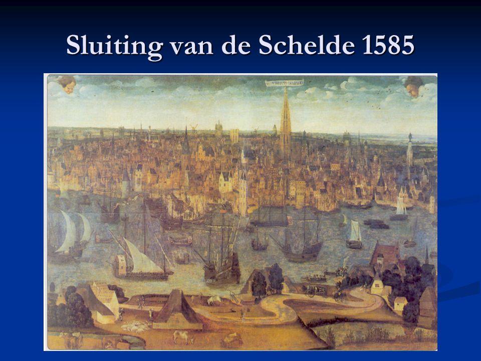 Plakkaat van Verlatinghe (1581) Noordelijke gewesten van de Nederlanden verklaren zich onafhankelijk van de Spaanse koning Zoeken een vorst, maar teve