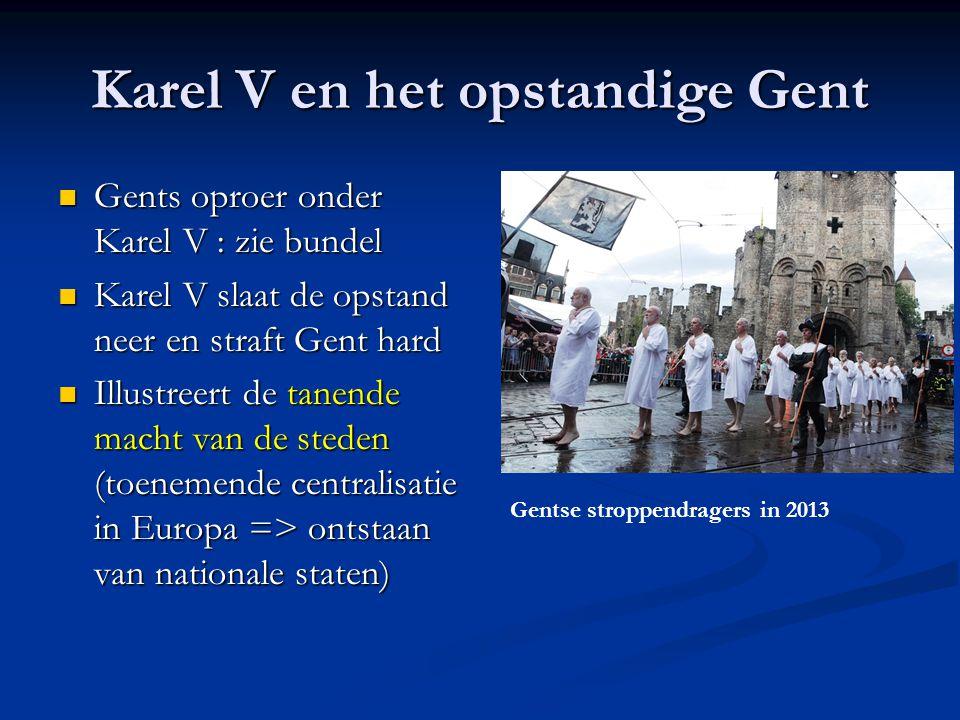 Uitsmijter(s) 1.Sprak Karel V Nederlands. 2. Vrouwen aan de macht 3.