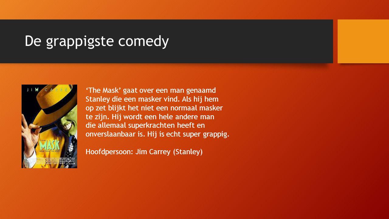 De grappigste comedy 'The Mask' gaat over een man genaamd Stanley die een masker vind.